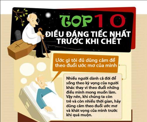 10 điều nên làm để khỏi hối tiếc khi về già